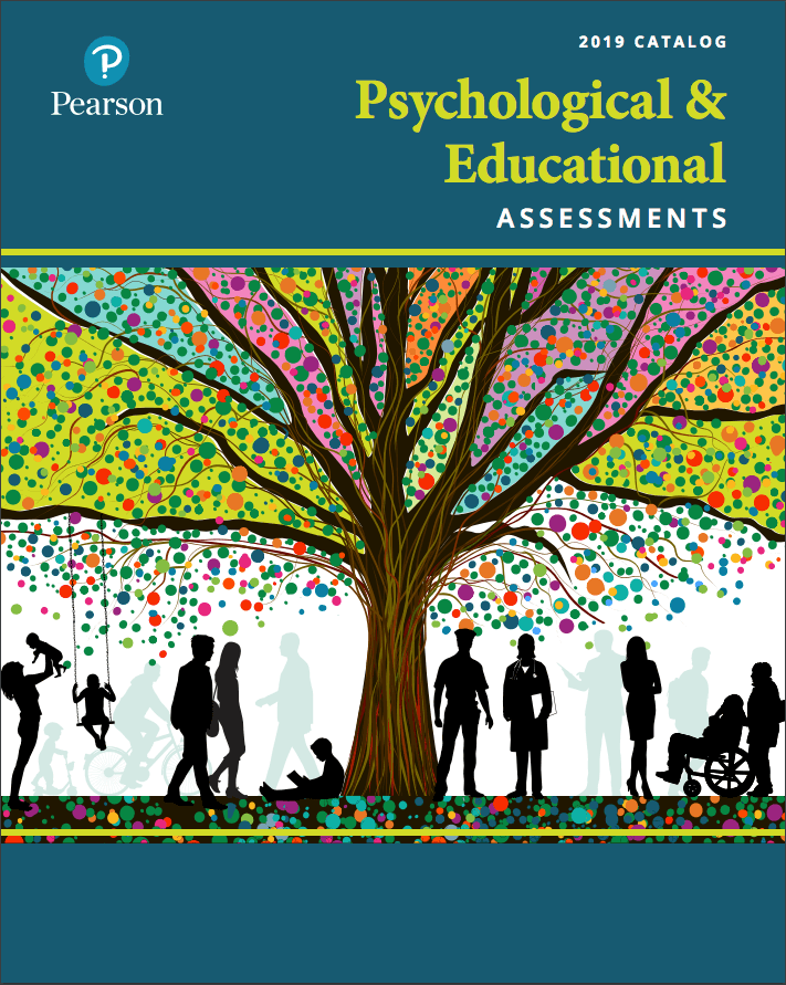 Cover of the 2019 Catalog Psychological & Educational Assessments