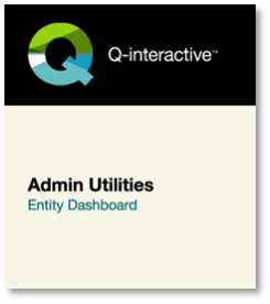 Q-interactive Entity Dashboard link