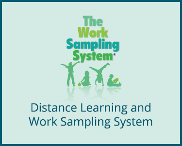 Distance Learning and Work Sampling System