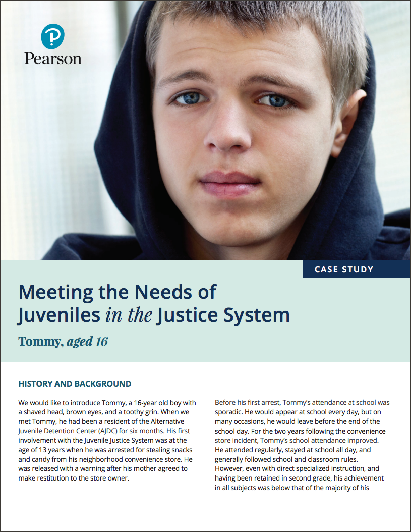 Meeting the needs of juveniles in the justice system
