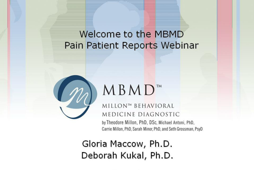 MBMD: Usage with Pain Patients
