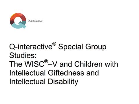 Q-interactive special group studies